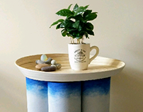 Crafted side table
