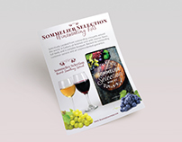 Sommelier Selection Full Page Ad
