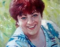Женский портрет по фото