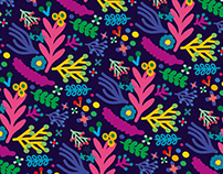 FLORA / PATTERNS & ILLUSTRATIONS