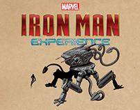 """Iron Man Experience"" Concept Art"