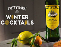 Cutty Sark Winter Cocktails