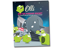 A brandnew Olli book. Olli and the Pudding Rocket
