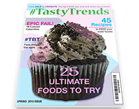 TastyTrends Magazine Redesign