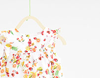 Commissioned fruits print - ZARA BABY