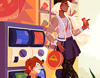 Break Time - Voltron Fashion Zine