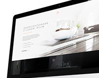 Bathrooms producer web design