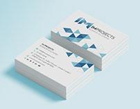 Diseño de tarjetas de visita IM Projects