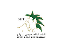 SAUDI POLO FEDERATION Logo Design
