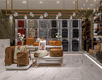 Bric's Store at Gaysorn Plaza by A Dot Architects