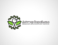 Homeopathy clinic business logo logotype design icon