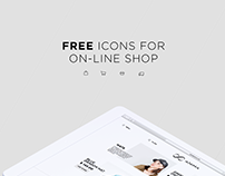 FREE ICONS for on-line shop and store.