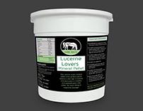 Equine Health Label Design