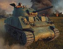 Soviet Sherman M4A2