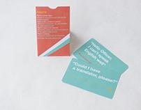 Marshallese and English Communication Card