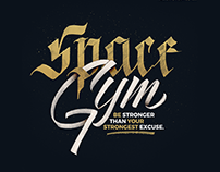 SpaceGYM Logo - WiP