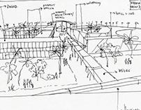 Concept Sketches for Masterplan Study, 2015
