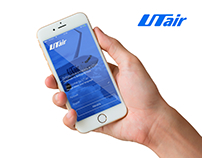 Concept mobile app «UTair»