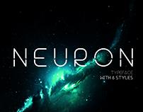 Neuron Spatial Typeface (FREE)
