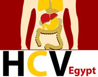 Infographic Egypt HCV إلتهاب الكبد الوبائى سى