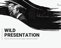 Wild Presentation Template