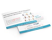 Social Media Postcard Branding