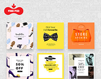 Brands And Promotions Banners Bundle