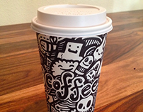 The Coffee Cup Doodles