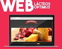 Propuesta Web Site Lácteos Optimus