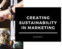 Creating Sustainability in Marketing