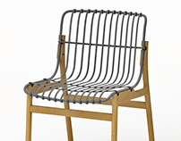 wirewood chair