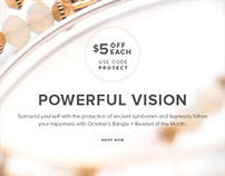 Visual Identity: Bangle of the Month