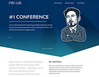 Nexus Free Website PSD