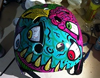 Custom Pro-teck Helmet