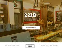 221B Bakery Website