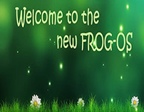 Graphic Design: Banners (for our VLE, FROG OS)