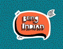 Being Indian Facebook Cover Arts
