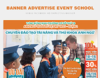 BANNER ADVERTISE EVENT SCHOOL