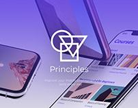 Principles - Mobile App Design (UI/UX)