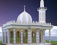 Masjid Ahmed  Killi  Khair, Wadh
