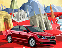 WORK FOR Ad Agency- Talenthouse Client - Skoda