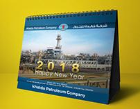 Khalda Petroleum Company-- Desk_calendar