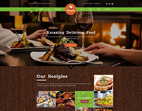 Restaurant website concept