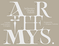 Arthemys Display - Variable family