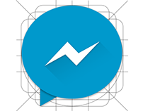 Facebook Messenger Material icon