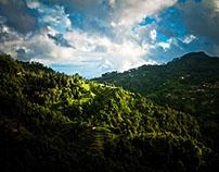Sindhupalchowk Landscapes, Nepal