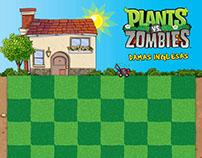 Desarrollos para niños con Licencias Plantas vs zombies