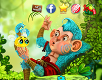 ASVA The Monkey. Mobile Game