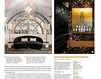 Boutique Design Magazine Feature: Hotel LeVeque