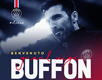 Welcome @PSG Gianluigi Buffon !